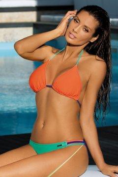 Háromszög bikini - Elin Baltimora-Maladive-Granatina M-343 narancs zöld 9e53decbb1
