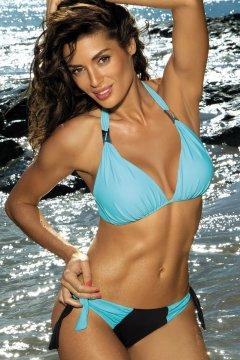 Háromszög bikini - Roxie Nero - Fata M-326 kék fekete 36e23a1d74