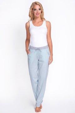 Pizsama nadrág Model 3080-1 szürke türkizkék bdce295195