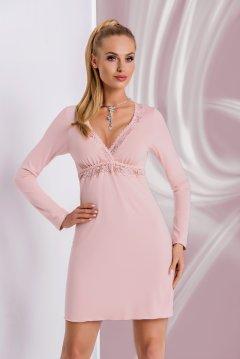 Hálóing Model Ariana II piszkos rózsaszín. Donna. Mell fölött csipkés  rövidujjú ... 091abf9973