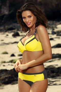 Sportos bikini rafinált szabással - Barbara Titanium-Tweety M-473  citromsárga szürke. Marko. Sportos háromszög bikini - Brooke Surf M-462 kék  sárga  ... 3ac0023bd8