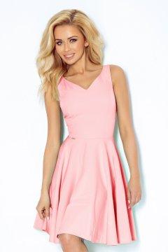 Ujjatlan ruha 114-5 pasztel rózsaszín 0ab7fe1ddf