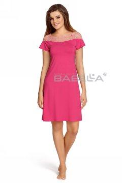 Vállán csipkés hálóing Model Laurencja világos fukszia rózsaszín 2a616e4fb4