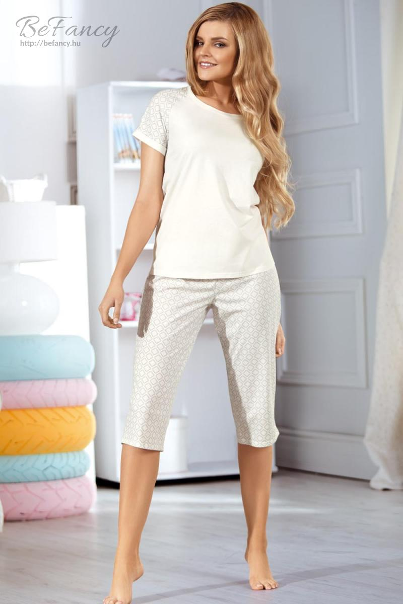 Pizsama női 3060 ekrü  22ec39b70c