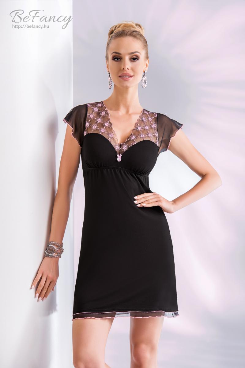 Hálóing Model Paris fekete rózsaszín  288069627b