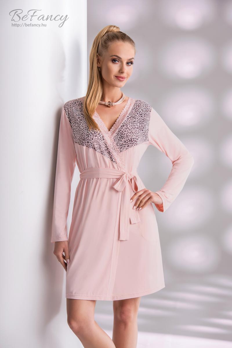 Női köntös Marika piszkos rózsaszín  1e0968c067