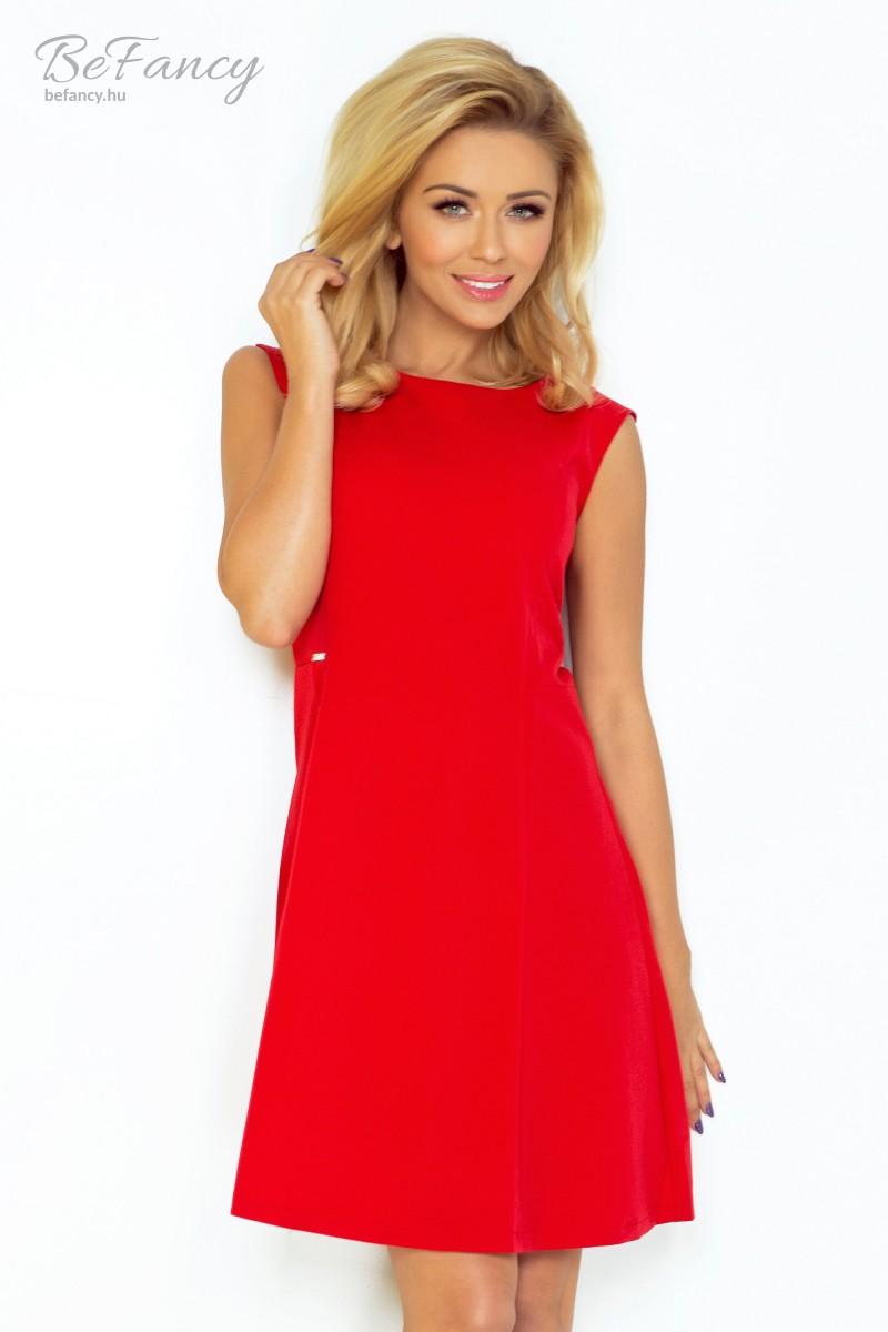 0f4e2e33c0 Ujjatlan nyári ruha bővülő szoknyával 137-2 piros | Numoco | Befancy ...