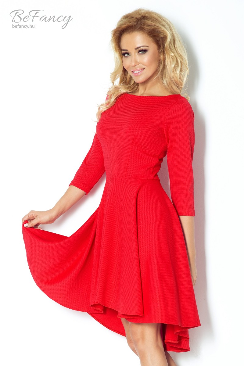 dc56dbec53 Aszimmetrikus ruha 90-4 piros   Numoco   Befancy webáruház