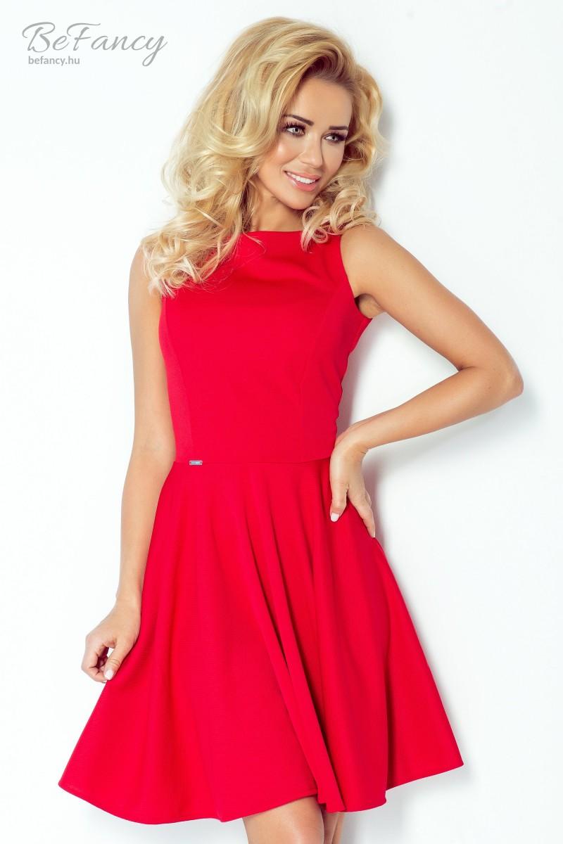 c7c586adc5 Ujjatlan ruha térdig érő bő szoknyával 98-2 piros | Numoco | Befancy ...