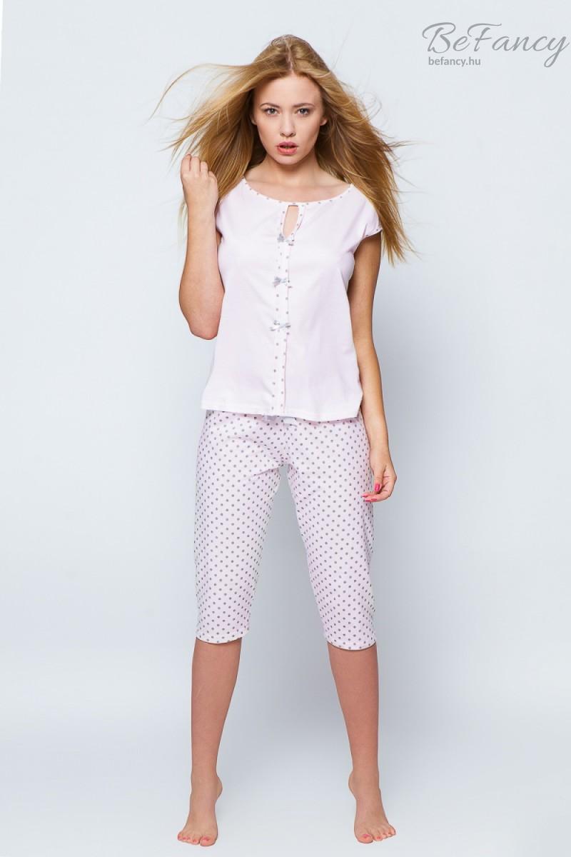 Pamut pizsama rövid ujjú felsővel dc63058368