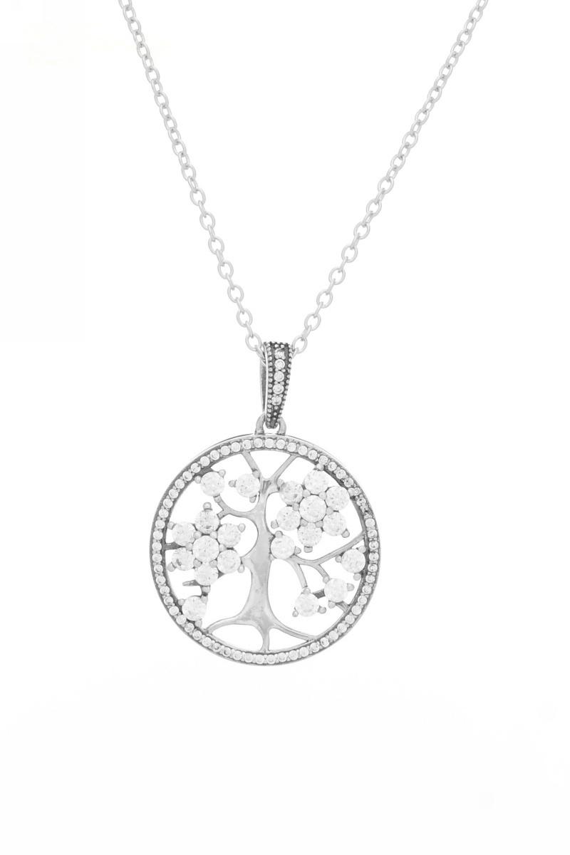 676ffbeb92 Sterling ezüst nyaklánc az élet fája medállal | | Befancy webáruház